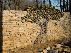 Creative stacked stone wall ideas home design garden amp architecture