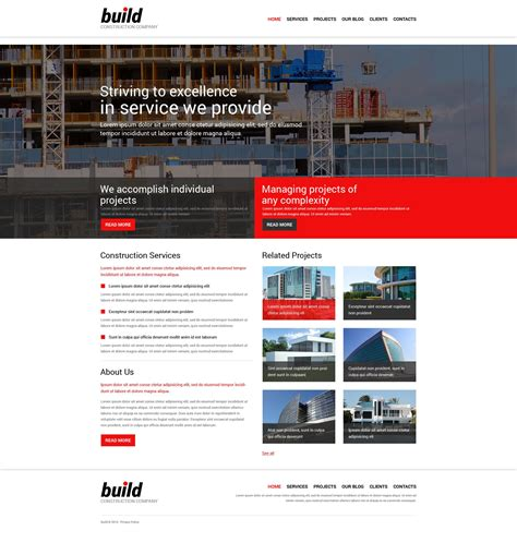 construction joomla template construction company responsive joomla template 51888
