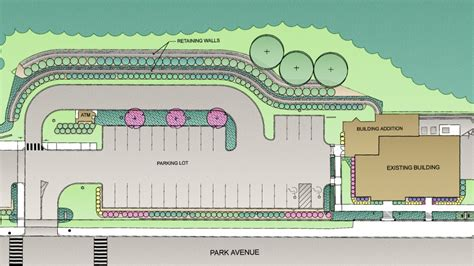 industrial layout and landscape planning and management commercial multi family sites earthdesign landscape