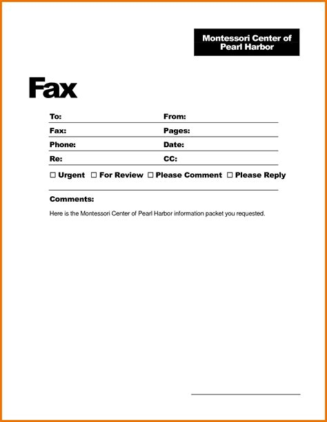 cover fax resume sheet