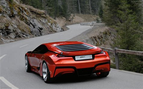bmw supercar m1 bmw m1 homage concept car widescreen exotic car photo 23
