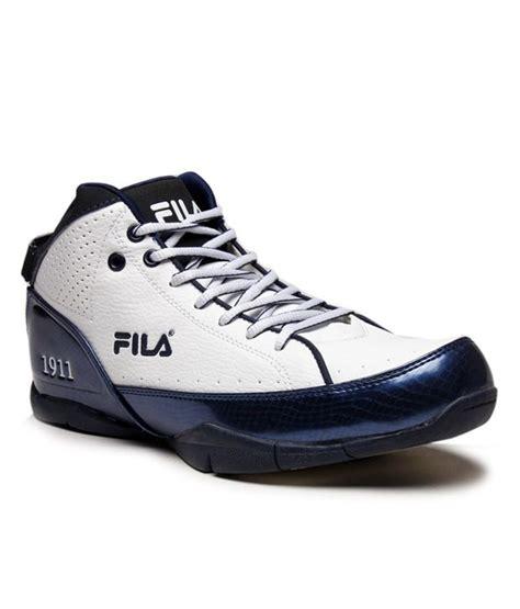 fila basketball shoes india buy fila court mate white basketball shoes for
