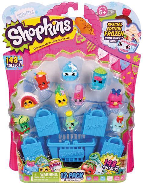 Shopkins 1 Pack Kotak shopkins season 1 12 pack toys dolls accessories dollhouses playsets
