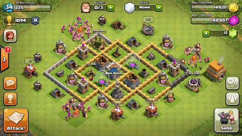 Layout Coc Farming Th6 | th6 farming layout www pixshark com images galleries