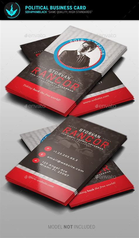 political caign business card templates political business card template business card templates