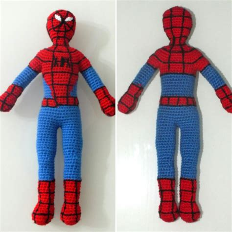 pattern for crochet spiderman doll free spiderman amigurumi crochet pattern kalulu for