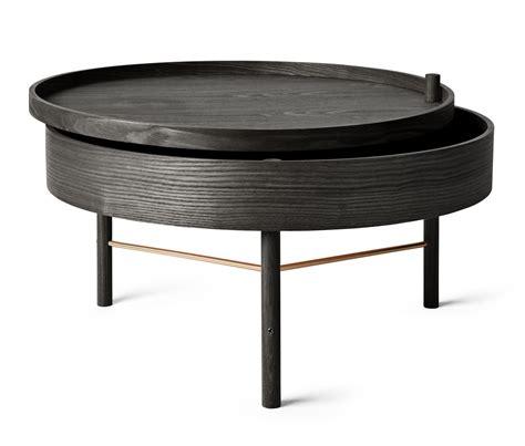 Black Ash Coffee Table Turning Table Coffee Table Storage 216 65 Cm Black Ash By Menu