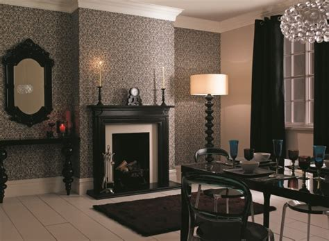 wallpaper designs dulux florentina in charcoal from dulux wallpapers under 163 30
