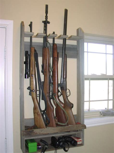 gun rack patterns  woodworking projects plans