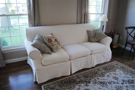 canvas slipcover sofa cozy cottage slipcovers brushed canvas sofa slipcover
