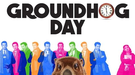 groundhog day broadway cast groundhog day the musical broadway review let s go to