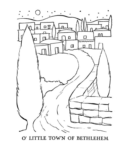Day 9 Micah 5 2 Advent Pinterest Coloring Pages Bethlehem