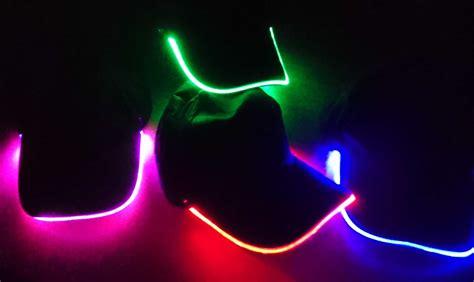 licht led led licht kappe light cap blink gruen gelb rot