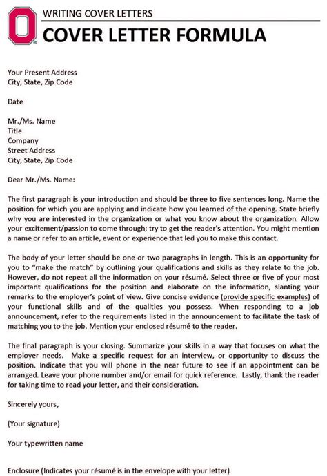 scientist cover letter sample ideal for all sciences
