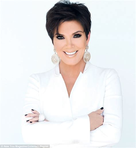 short hair poses kris jenner poses in raunchy black lace outfit for