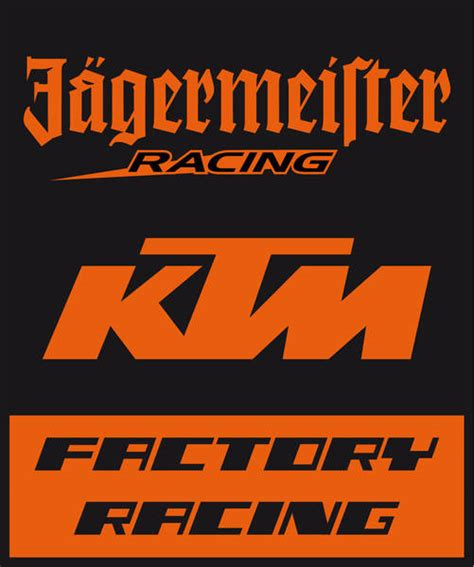 Ktm Factory Racing Logo Ktm Renews Partnership With Jagermeister Autoevolution