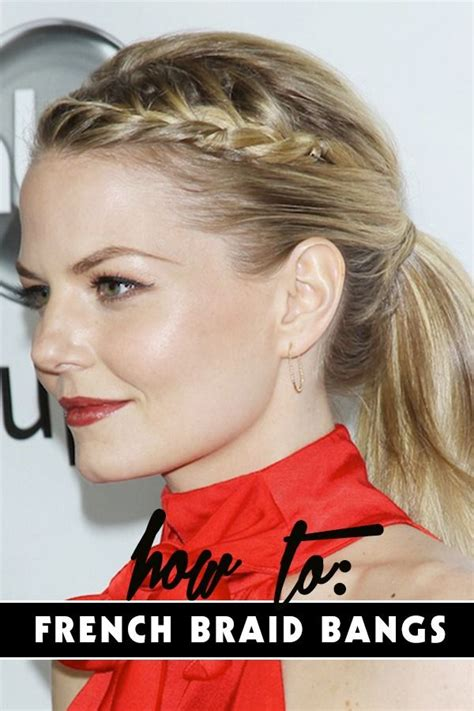 how to french braid your own bangs the easy way best 25 french braided bangs ideas on pinterest easy
