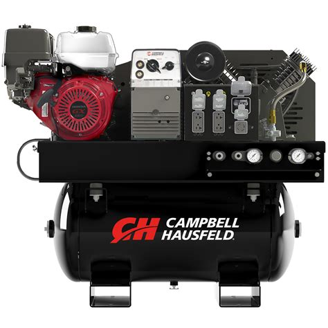 air compressor generator welder 30 gallon cbell hausfeld gr3200