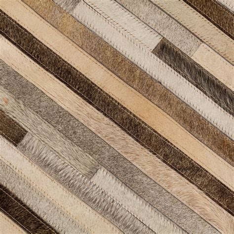 buy patchwork leather cowhide rug 11p4106 120x180cm