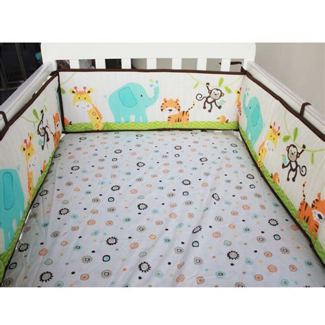 bed bumper baby crib cot bumper infant toddler bed protector pillow
