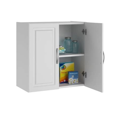 System Build Cabinets by Systembuild 24 Quot Wall White Aquaseal Storage Cabinet Ebay