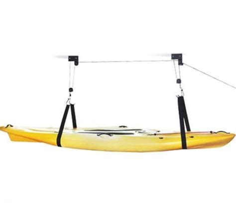 Kayak Garage Hoist by Kayak Hoist Pulley System Heavy Duty Kayak Canoe Hoist