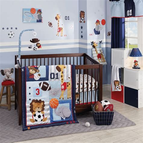 Babies Crib Bedding Set Lambs Future All 5 Baby Crib Bedding Set Includes Bumper New Ebay