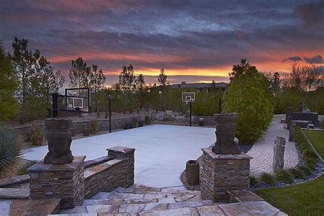 great american backyard cout 34 spectacular backyard sports court ideas