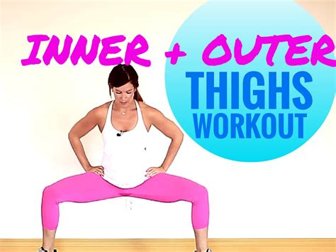 inner and outer thigh workout 5 more hours workout