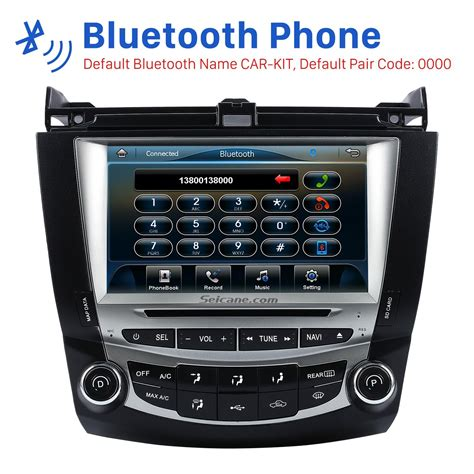 car stereo honda accord car stereo radio replacement upgrade for 2003 2004 2005