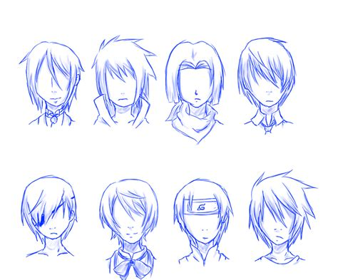 anime hairstyles with names anime hairstyles 14 inkcloth