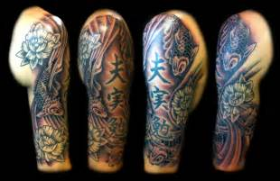 Com img src http www tattoostime com images 422 grey ink japanese
