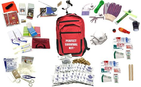 earthquake kit deluxe 2 person survival kit for emergency disaster