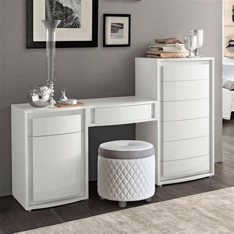 bianca white high gloss maxi dressing table mirror stool set   interiors