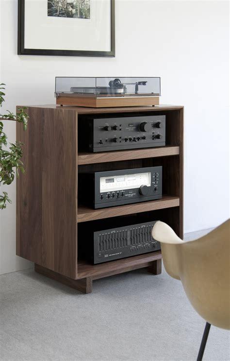 audio furniture audio racks and cabinets aero 25 quot audio rack aero audio entertainment cabinets