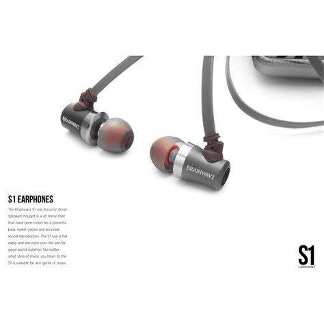 Brainwavz S1 Earphones Silver brainwavz s1 earphones silver jakartanotebook