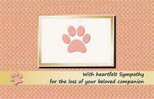 items similar to printable pet sympathy card cat pink folded paw prints instant on etsy
