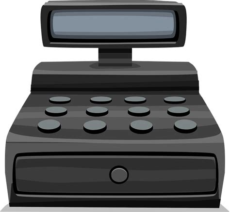 Checkout Register Cashier free vector graphic register register retail