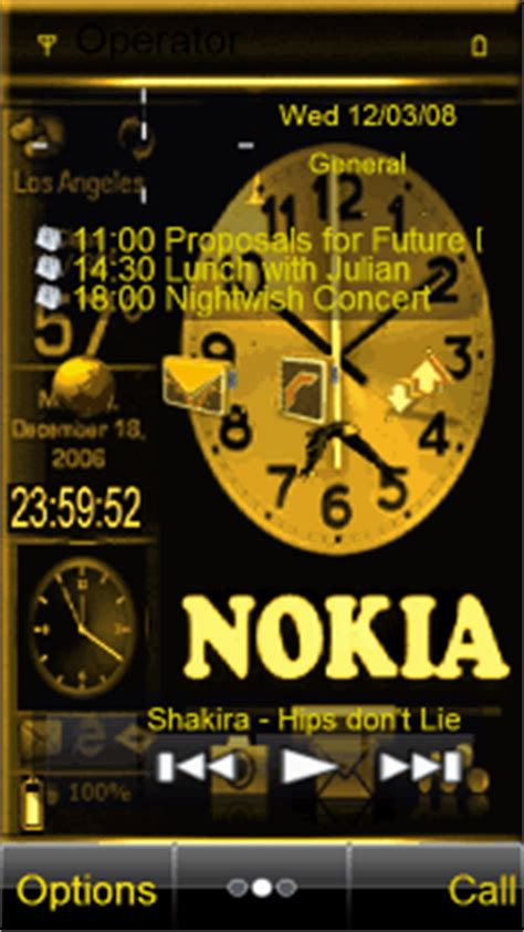 nokia e72 animated themes animated nokia clock mobile themes for nokia 700