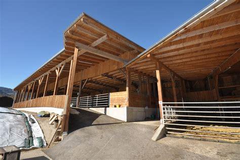 scheune pultdach landwirtschaftliche bauten vom steirische holzbau meister