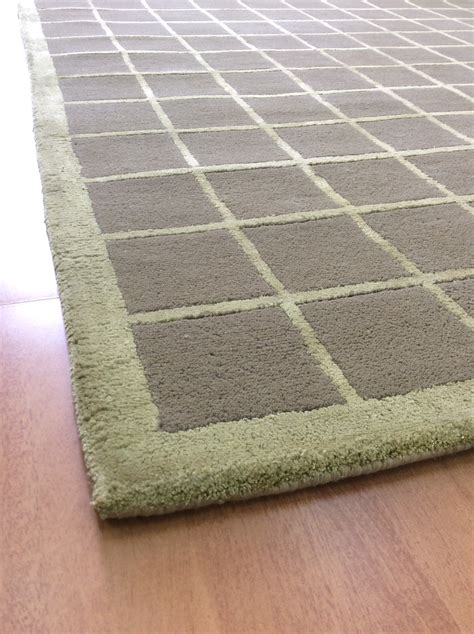 5x8 rugs 100 handmade wool viscose modern brown green 5x8 lt1068 area rug