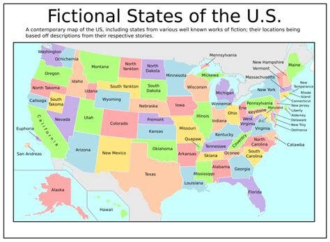 map of th usa fictional states of the u s by tullamareena on deviantart