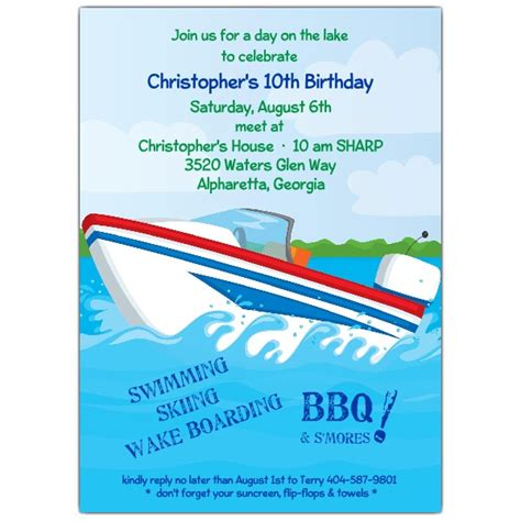Boat Themed Wedding Invitations by Boat Invitations Www Pixshark Images