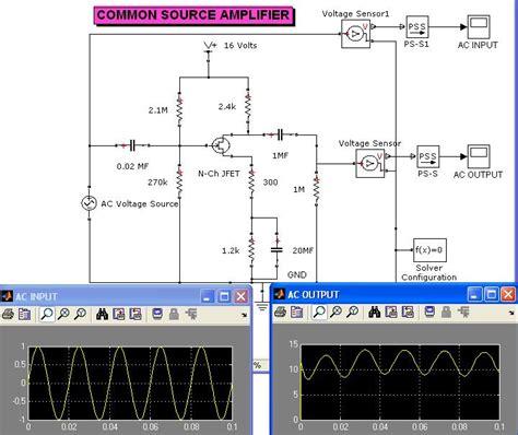 transistor lifier simulator k subramanian matlab central