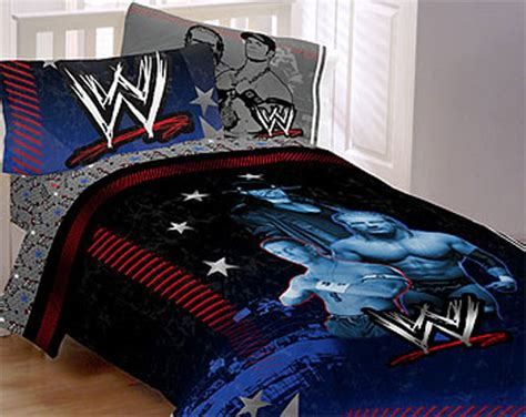 wwe wrestling bed wwe wrestling main event john cena bedding set extreme
