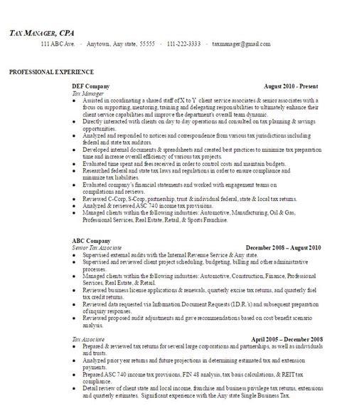 Tax Manager Sle Resume by Tax Manager Sle Resume Ambrionambrion Minneapolis Executive Search Minnesota Staff