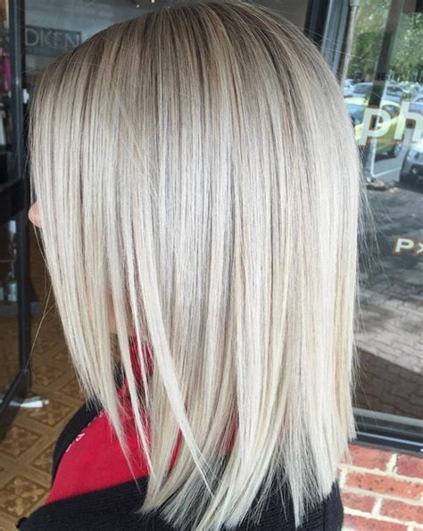 cute shoulder length haircuts longer in front and shorter in back 90 sensational medium length haircuts for thick hair in 2017