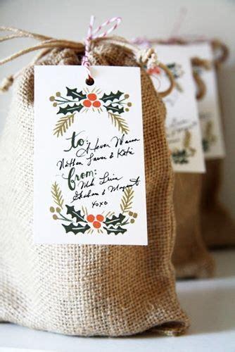 Wrapping Karung Goni ideas con tela de saco diy regalos originales