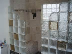 glass block shower wall height size cleveland columbus