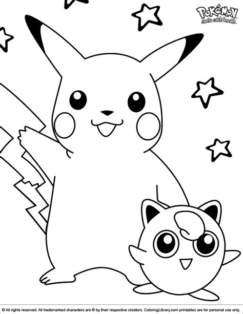 Coloring In Pictures Pokemon Coloring Picture by Coloring In Pictures